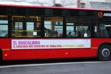 Éste es nuestro anuncio en los autobuses